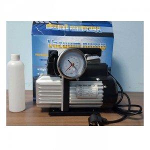 Вакуумный насос 2DS-215S (2 ступ/42л) с вакууметром